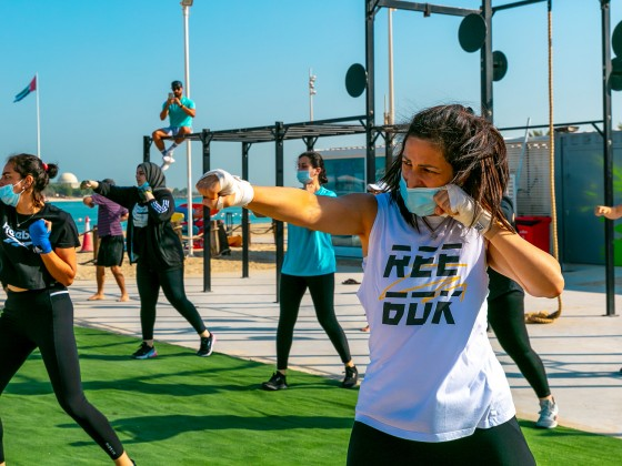 abu dhabi fitness classes c